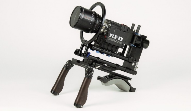 Letus Helix 1-Axis PRO is a Stabilized Platform for Steadicams