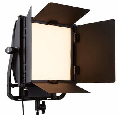 Litepanel ASTRA 1x1 Soft with Barn Doors