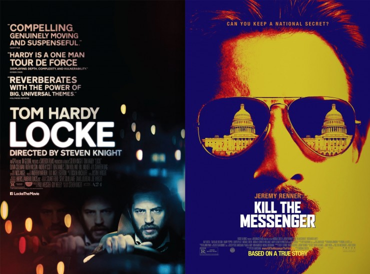 Locke, Kill the Messenger Screenplays Available For Your Consideration