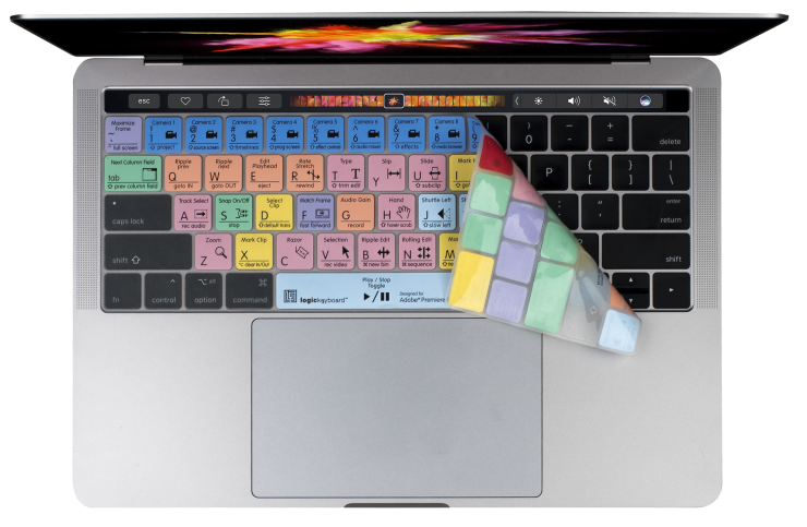 Logickeyboard LogicSkin MacBook Touch Bar Keyboard Cover