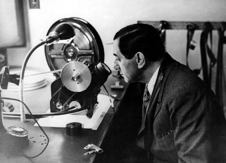 Ernst Lubitsch moviola editing no film school