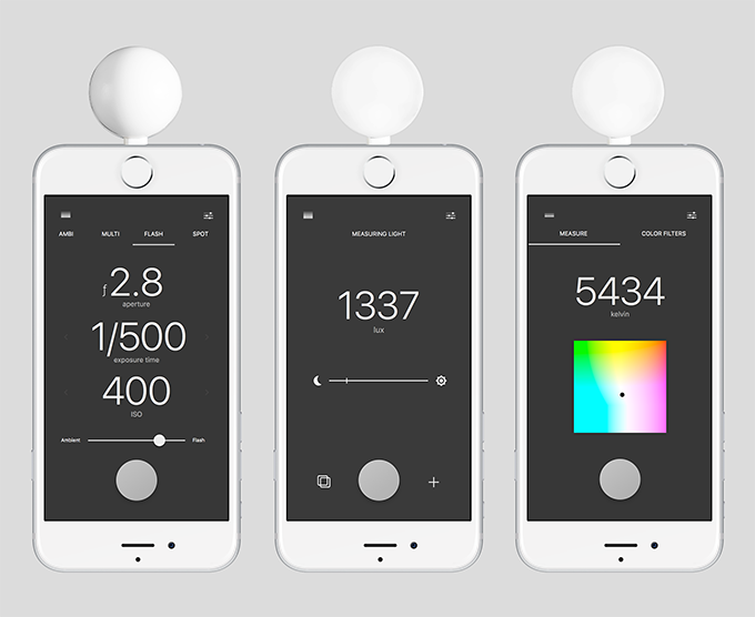Lumu Power iPhone Light and Color Meter