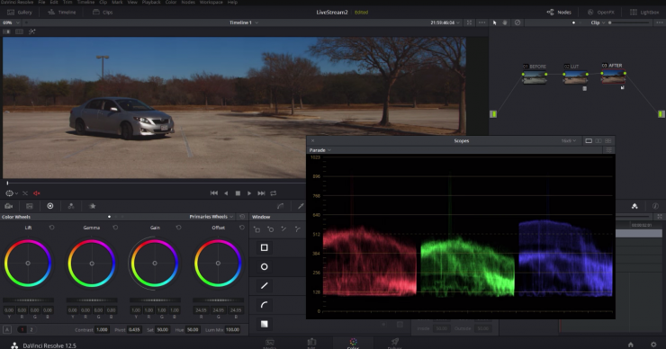 Should You Adjust Your Footage's Color Before or After