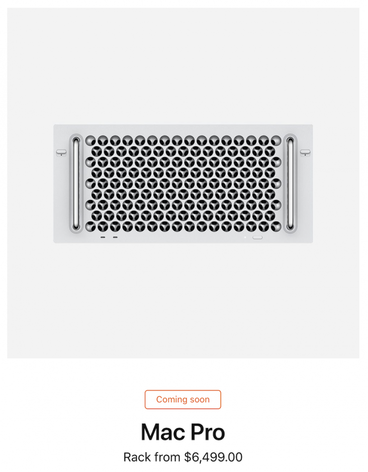 We Got the Mac Pro Tower. When Will We See the Pricier Rack Mount?