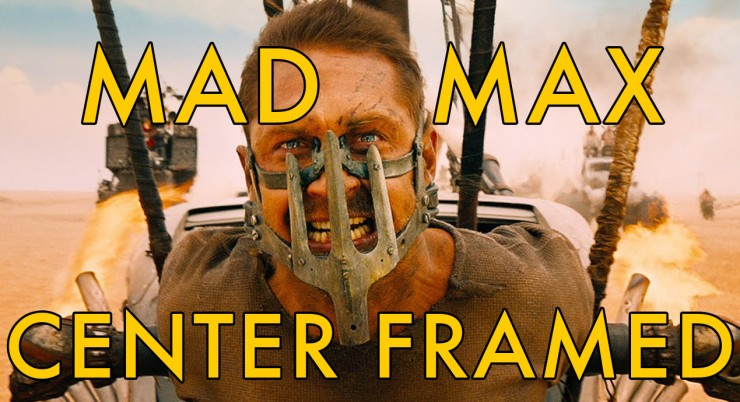 Mad Max Fury Road Center Framed Vashi Nedomansky