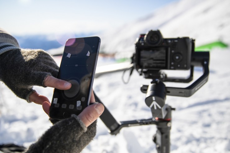 Manfrotto Gimbal Collection App