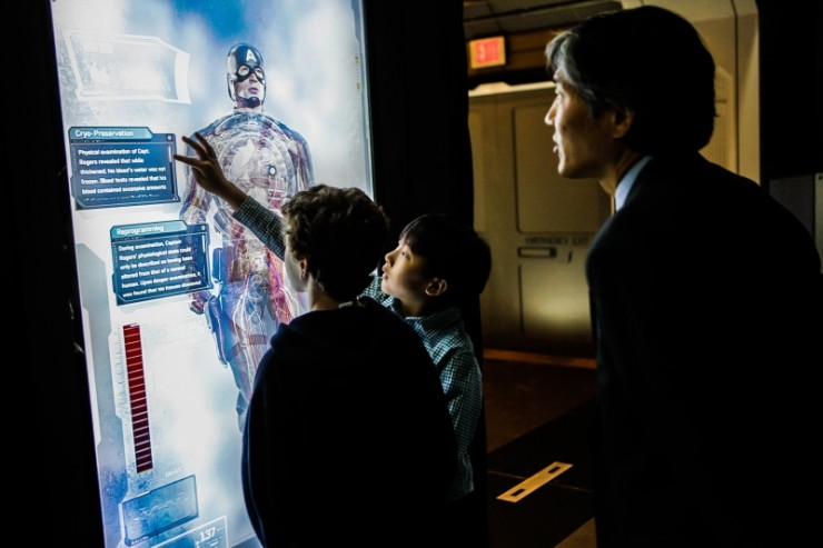 Marvel's The Avengers S.T.A.T.I.O.N. Interactive Exhibit by Victory Hill Exhibitions