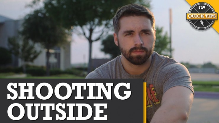 http://nofilmschool.com/2014/11/beginners-guide-shooting-outside-5-things-shouldnt-leave-home