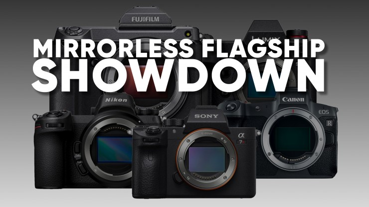 Mirrorless Flagship Camera Comparison