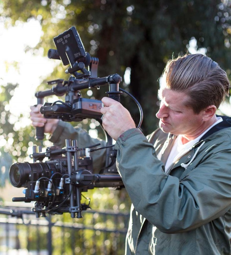 Director/Cinematographer Ty Evans Using Redrock Torque on MoVI