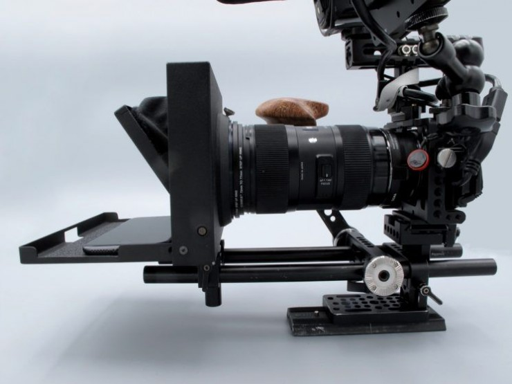 The mPrompter comes with a variety of lens attachment mounting rings for any camera.