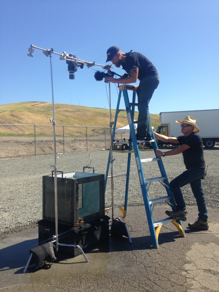 Mythbusters BMPCC BTS