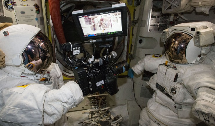 NASA 6K RED EPIC DRAGON in Space - 4K Footage