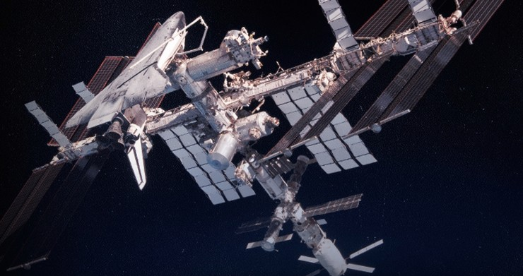 NASA International Space Station Partnership with RED