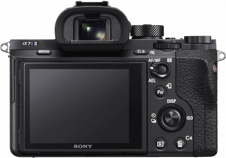 Sony a7S II Back