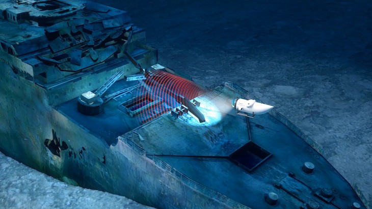 Photogrammetry will preserve the Titanic Virtually for future generations