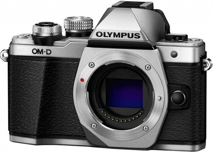 Olympus OM-D E-M10 Mark II Front Angled