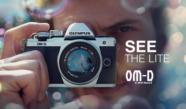 Olympus OM-D E-M10 Mark II MFT Mirrorless Camera