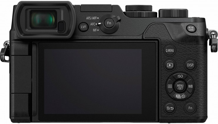 Panasonic GX8 Back