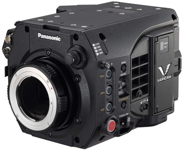 Panasonic VariCam LT Front with Canon Mount