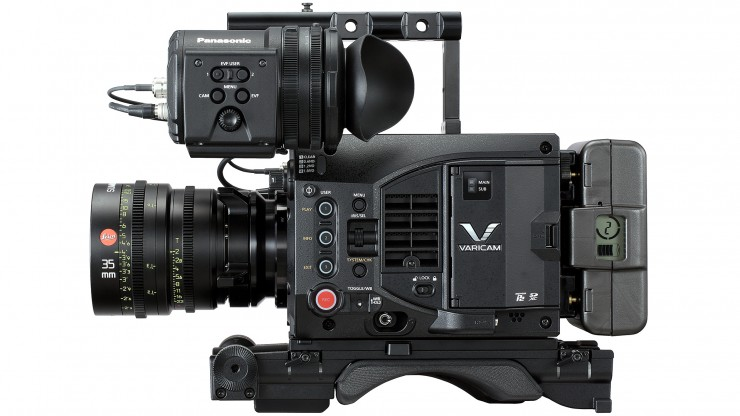 Panasonic VariCam LT Side 1