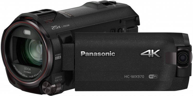 Panasonic WX970 4K Camcorder with HDR