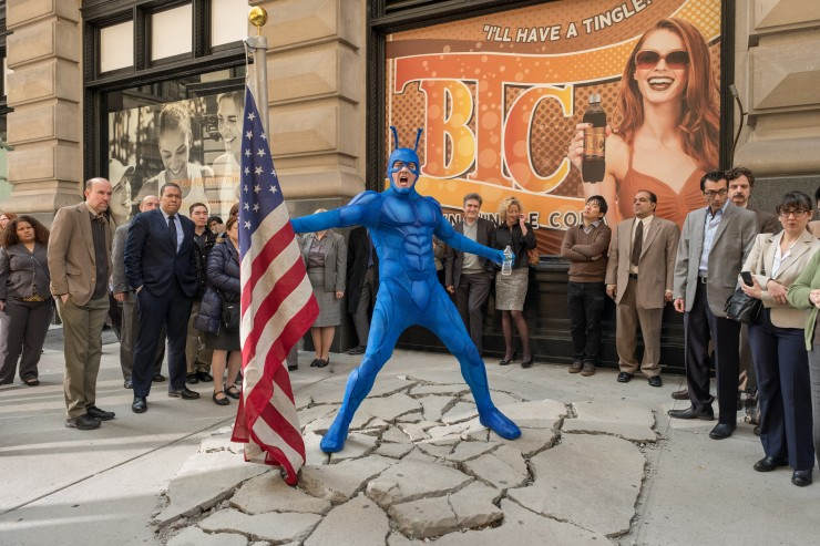 Peter Serafinowicz as The Tick - William Rexer and Scott Ramsey
