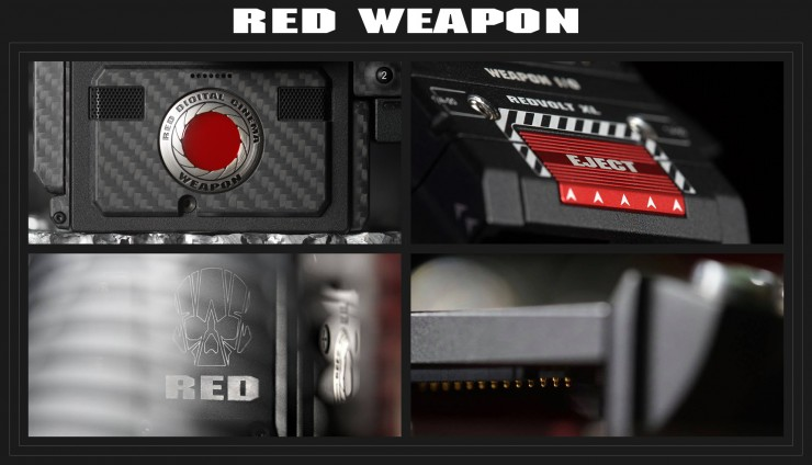 RED WEAPON by Phil Holland