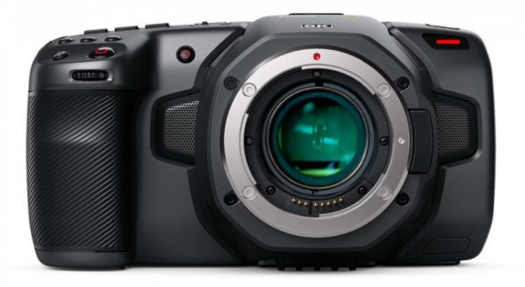 Rendering of BMPCC6K with LucAdapters MagicBooster Pocket 6K adpater