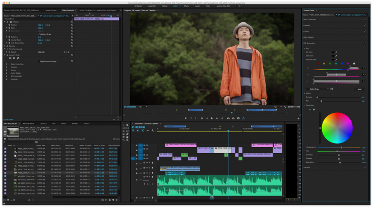 Dive into Premiere Pro: Adobe's Obsession with Color