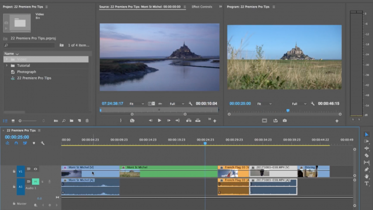 how to use adobe premiere pro to cut video