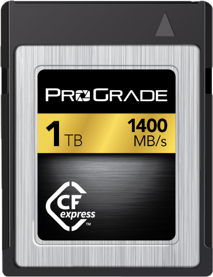 ProGrade Hits the CFExpress Market with sizes up to 1TB