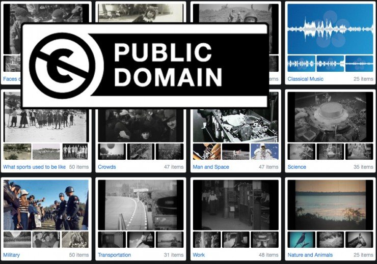 8 Great Sources of FREE Public Domain Footage for Your