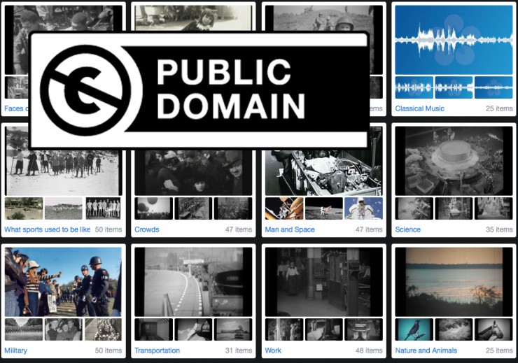Need Public Domain Footage For Your Do Entary Here Are  Great Sources