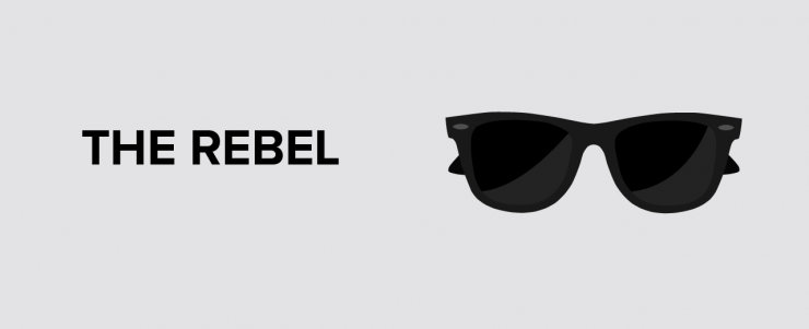 the rebel character archetype