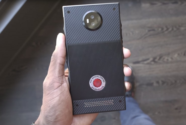 Take a First Look at RED Hydrogen One