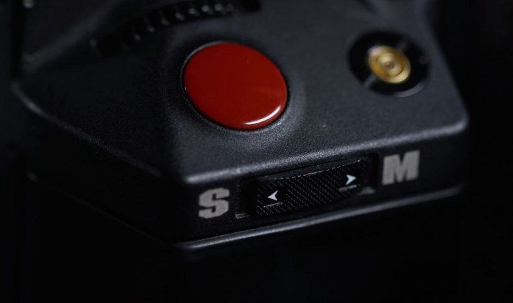 RED Stills and Motion Button