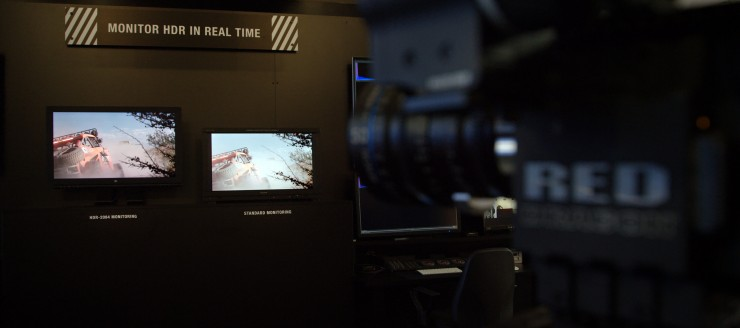 RED Real-Time HDR Monitoring