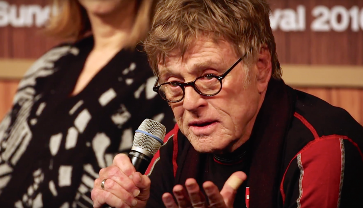 Robert Redford Advice to Young Filmmakers Sundance 2016