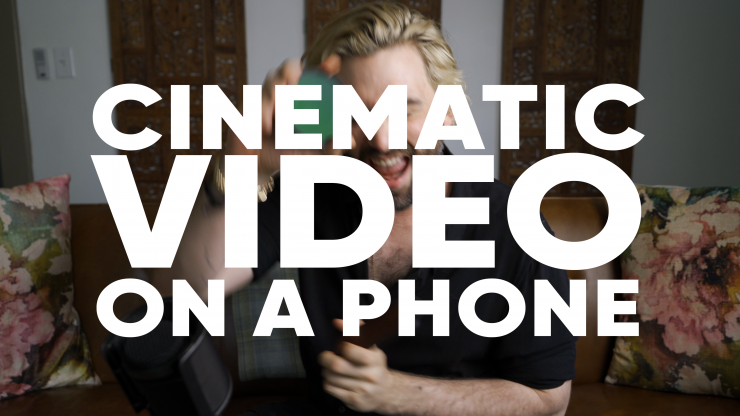 Cinemati video on a phone