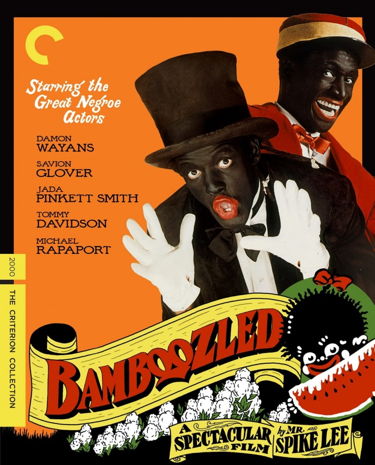 Poster for Spike Lee's film 'Bamboozled'