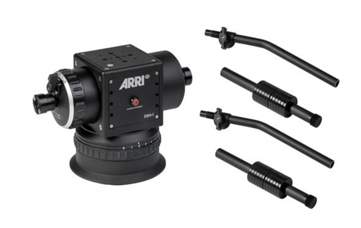 ARRI's DEH-1 comes with Master Grips or an OCU-1 Zoom Rocker Arm