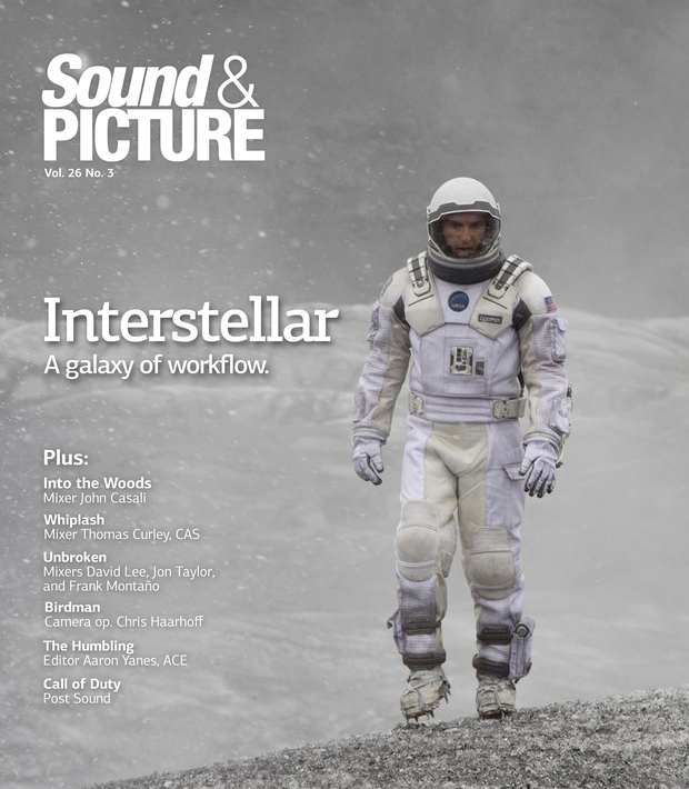 Sound & Picture Magazine Front Cover