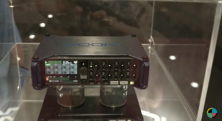 Zoom's 8-Track Recorded Unveiled at NAB 2015