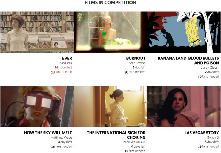 Fandependent Films in Competition