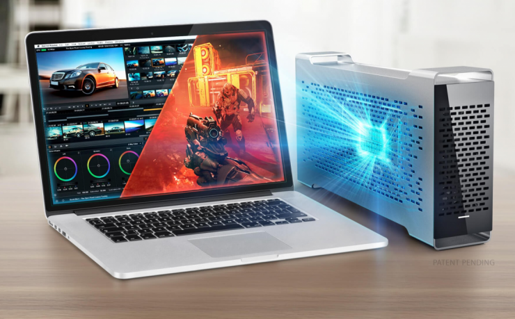 BizonBOX 3 is First Mac Thunderbolt 3 GPU Expander Out of the Gate