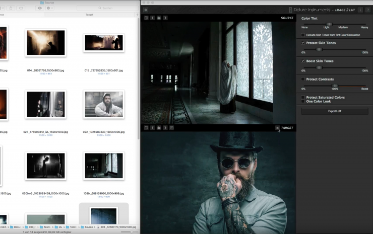 Demo: Create Matches of Your Favorite Shots with Image 2 LUT