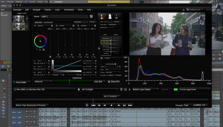 Stay Within Avid for Color with New Baselight Plugin