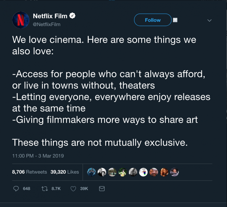 Netflix Fires Back at Spielberg Over Streaming Dispute