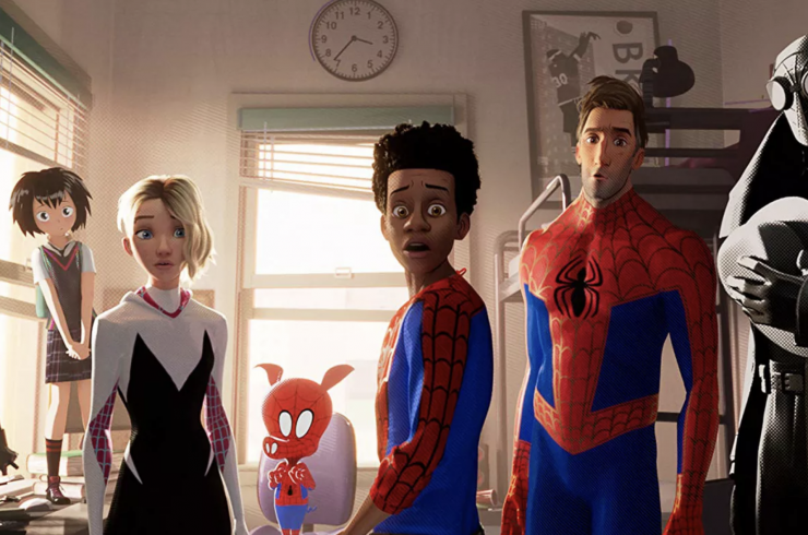 Spider verse Animated Naturalism